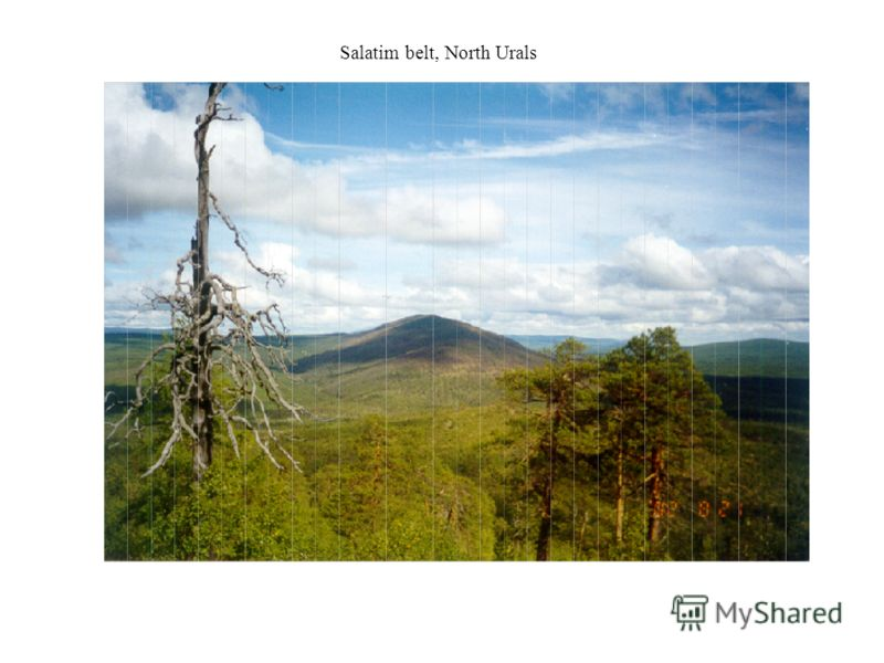 Salatim belt, North Urals
