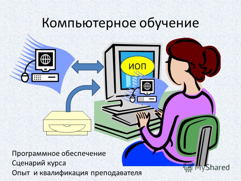 Компьютерное обучение ИОП Программное обеспечение Сценарий курса Опыт и квалификация преподавателя