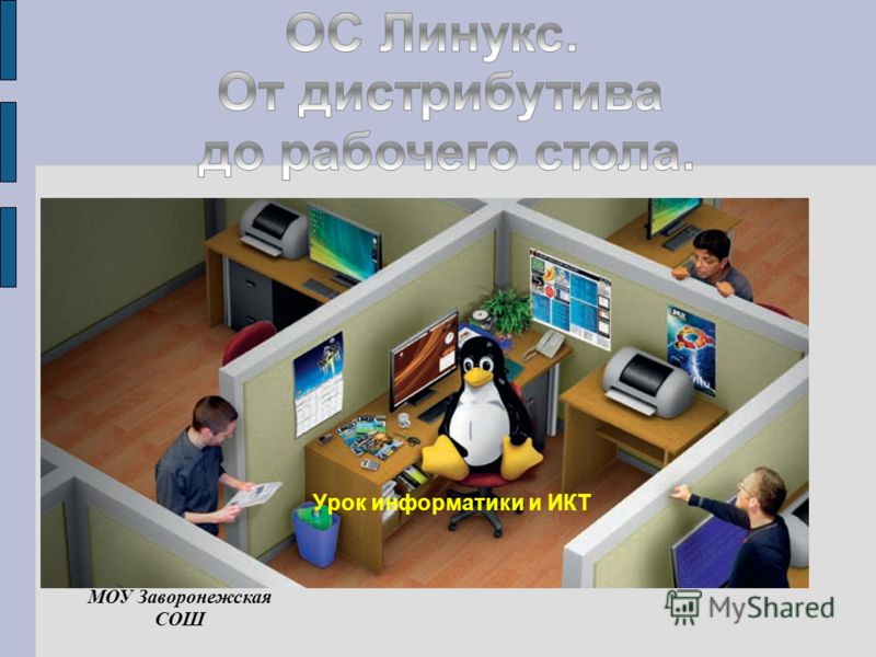 Урок информатики и ИКТ МОУ Заворонежская СОШ