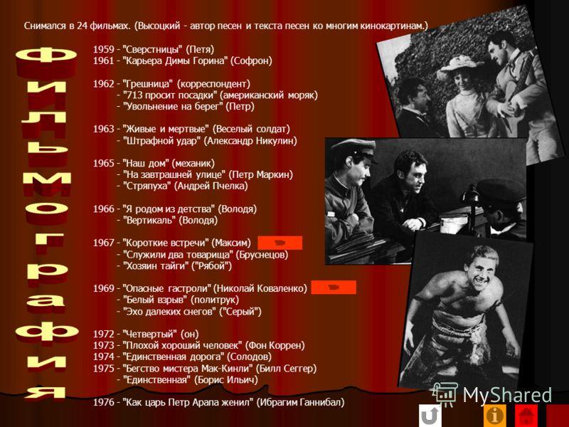 Дата рождения -25 января 1938 место рождения - г. Москва Членство в КПСС - беспартийный, партвзысканий не имеет. Ранее в КПСС не состоял К судебной ответственности - не привлекался ( от сост.!!!) Правительственные награды - не имеет Имеет ли родствен