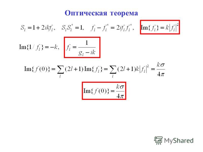 Оптическая теорема