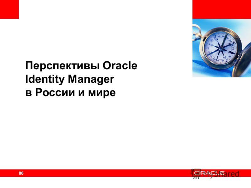 86 Перспективы Oracle Identity Manager в России и мире