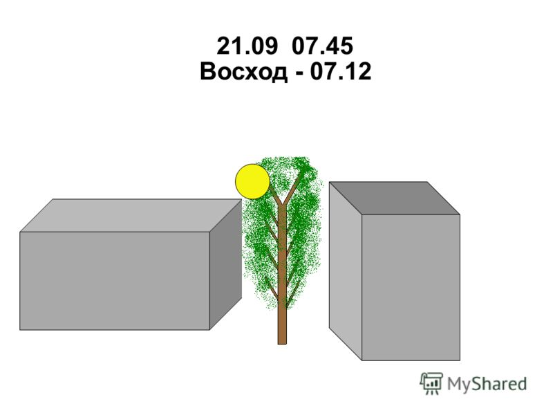 21.09 07.45 Восход - 07.12