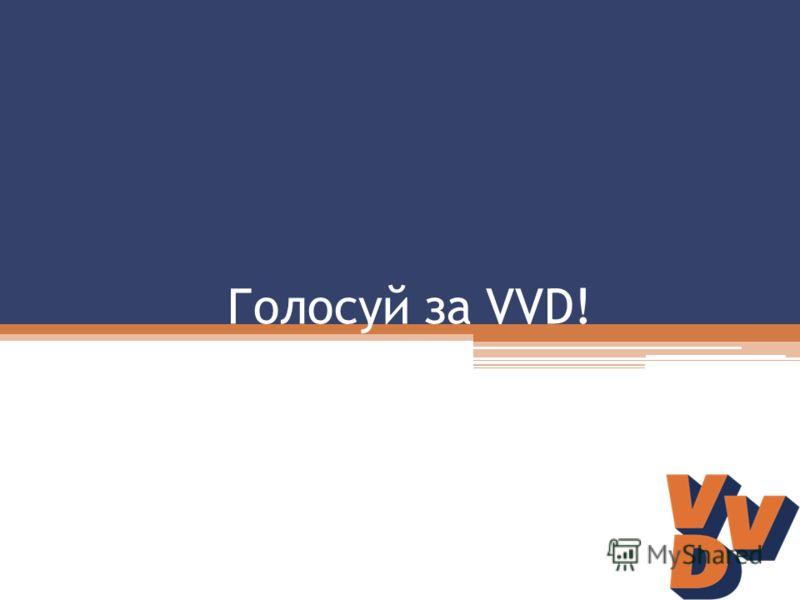 Голосуй за VVD!