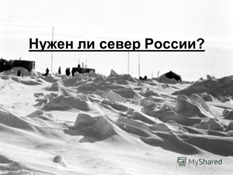 Нужен ли север России?
