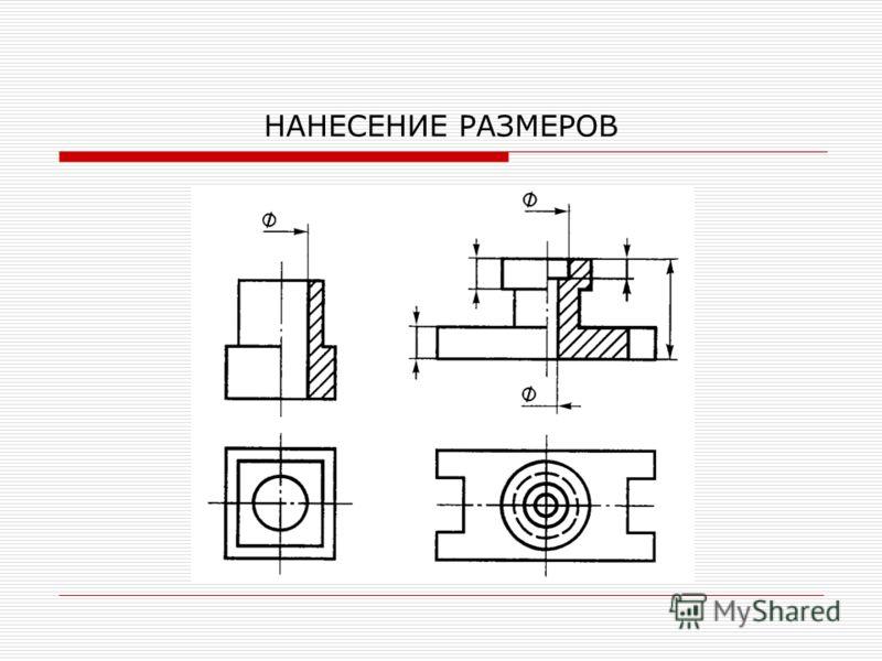 НАНЕСЕНИЕ РАЗМЕРОВ