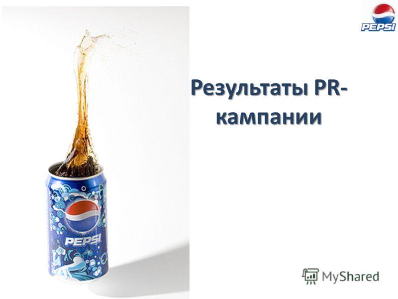 Результаты PR- кампании