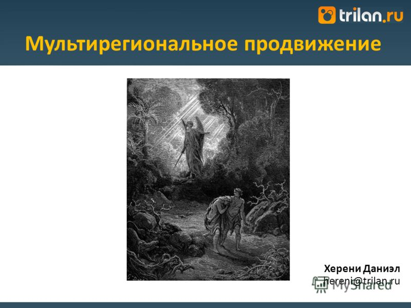 Херени Даниэл hereni@trilan.ru Мультирегиональное продвижение