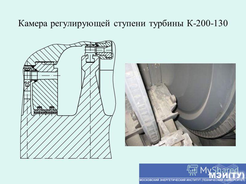 Камера регулирующей ступени турбины К-200-130