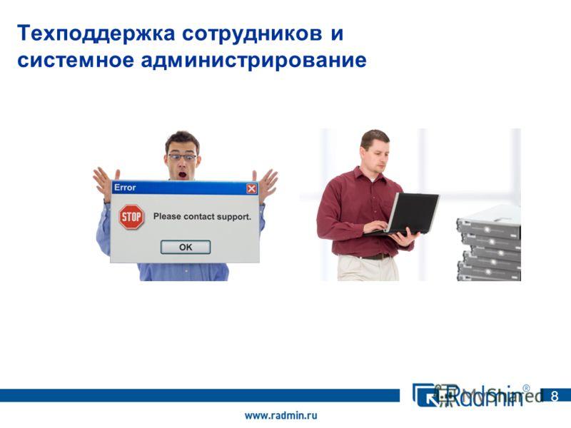 Техподдержка сотрудников и системное администрирование 8