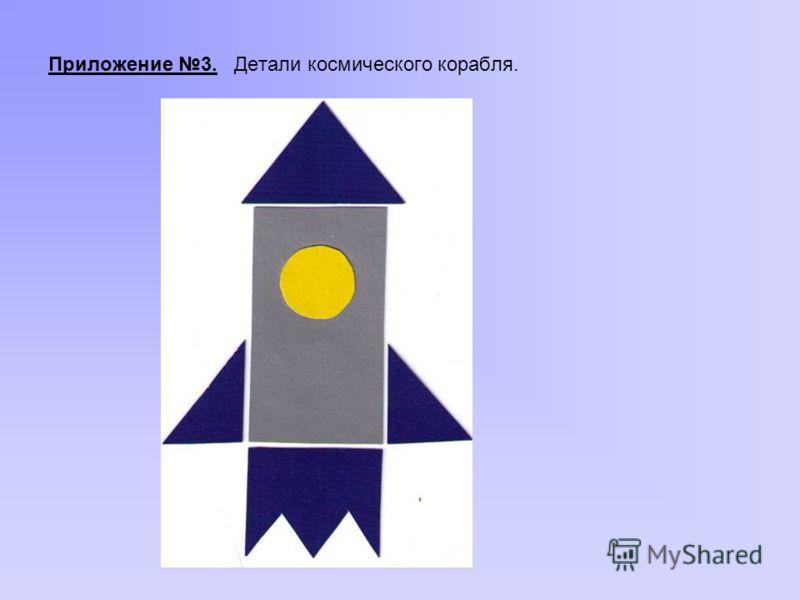 Приложение 3. Детали космического корабля.