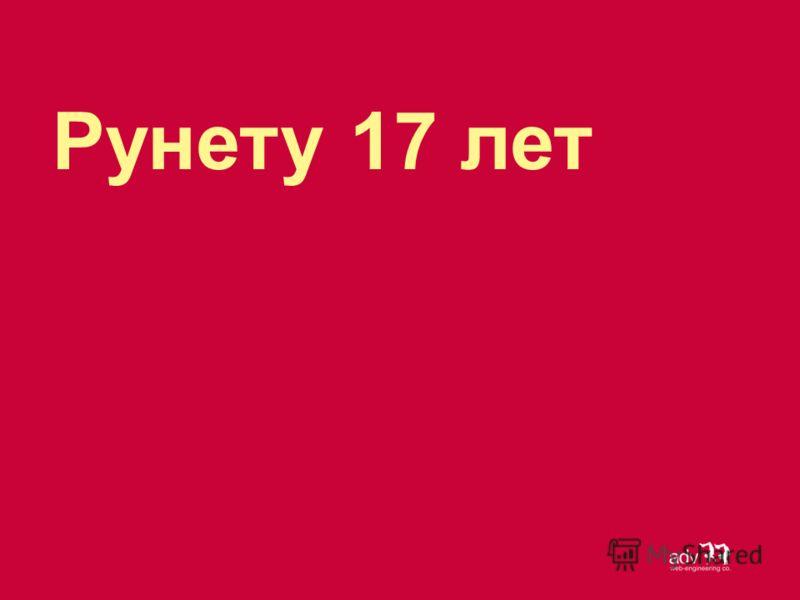Рунету 17 лет