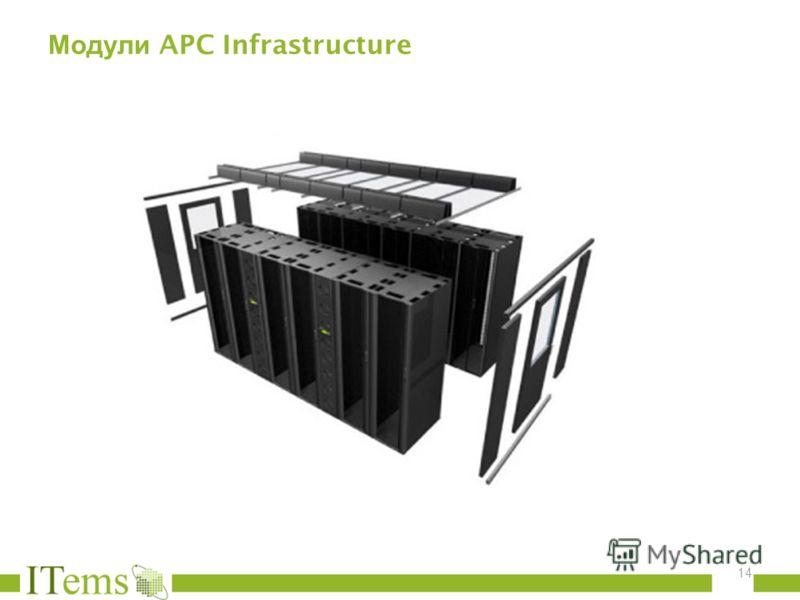 Модули APC Infrastructure 14