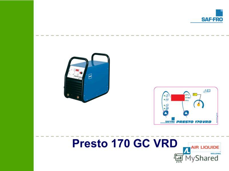 Presto 170 GC VRD
