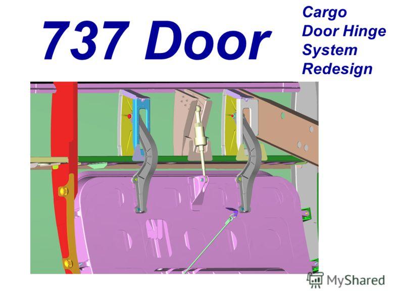 737 Door Cargo Door Hinge System Redesign