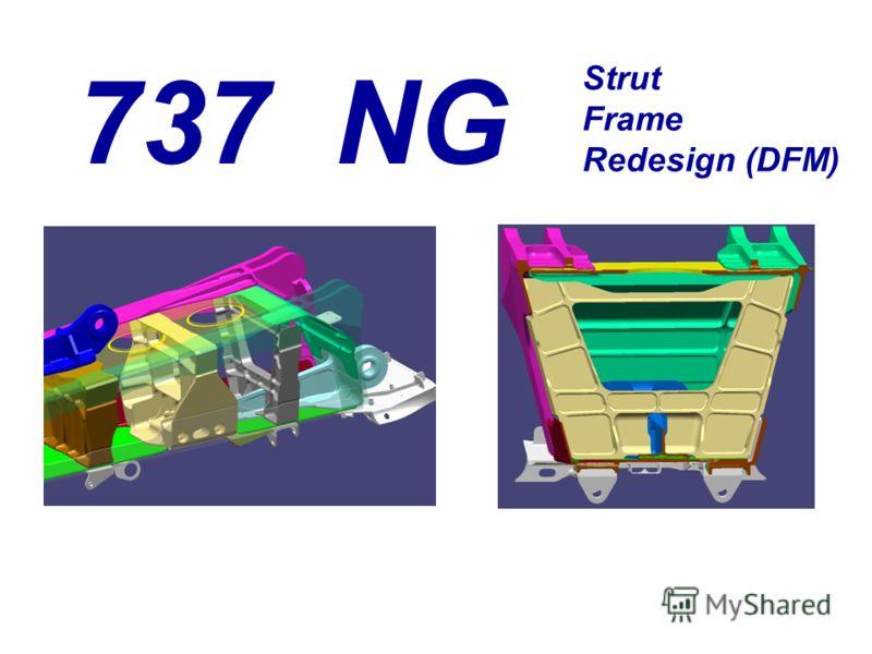737 NG Strut Frame Redesign (DFM)
