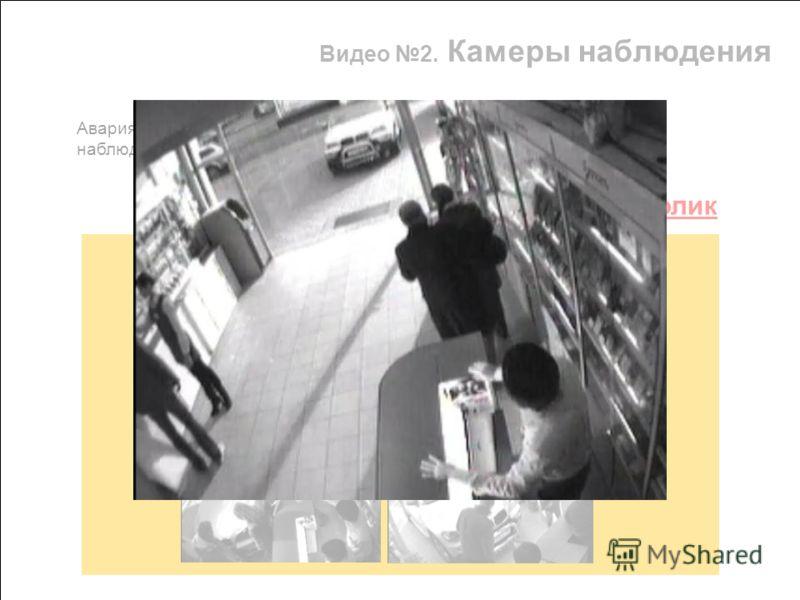 Видео 2. Камеры наблюдения Смотреть ролик Авария Ксении Собчак в «Евросети», якобы запечатлённая камерами наблюдения магазина и просочившаяся в Интернет.