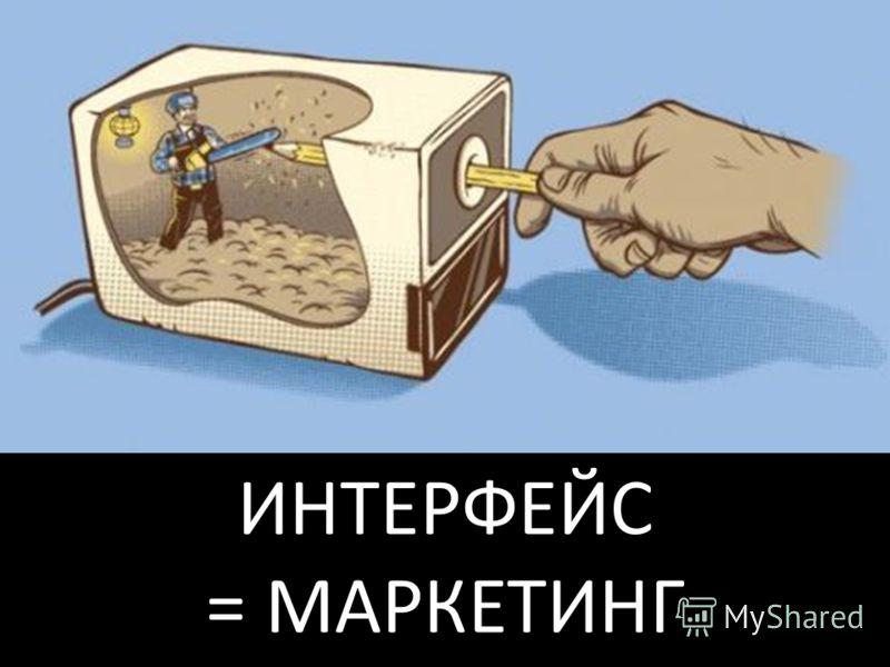 ИНТЕРФЕЙС = МАРКЕТИНГ