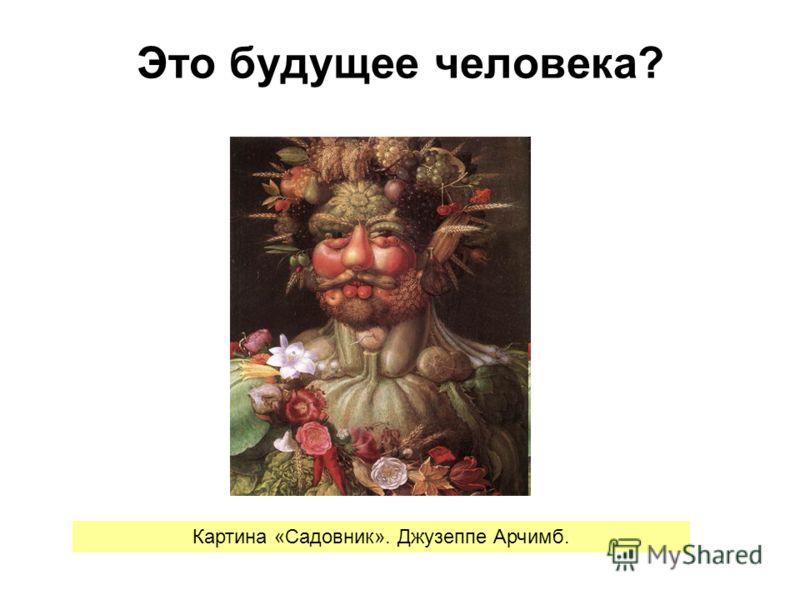 Это будущее человека? Картина «Садовник». Джузеппе Арчимб.