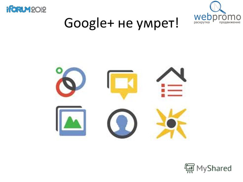 Google+ не умрет!