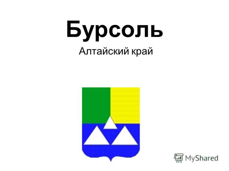 Бурсоль Алтайский край