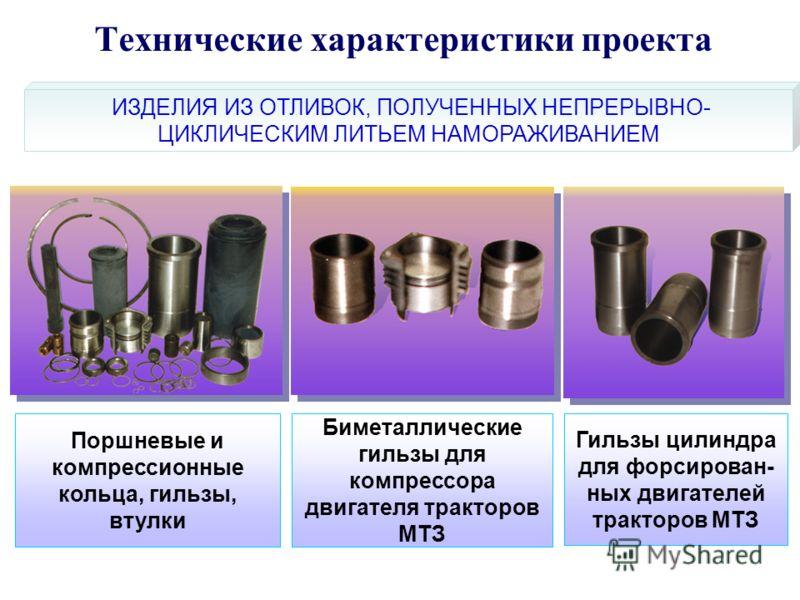 Поршневые и компрессионные кольца, гильзы, втулки Биметаллические гильзы для компрессора двигателя тракторов МТЗ Гильзы цилиндра для форсирован- ных двигателей тракторов МТЗ ИЗДЕЛИЯ ИЗ ОТЛИВОК, ПОЛУЧЕННЫХ НЕПРЕРЫВНО- ЦИКЛИЧЕСКИМ ЛИТЬЕМ НАМОРАЖИВАНИЕМ