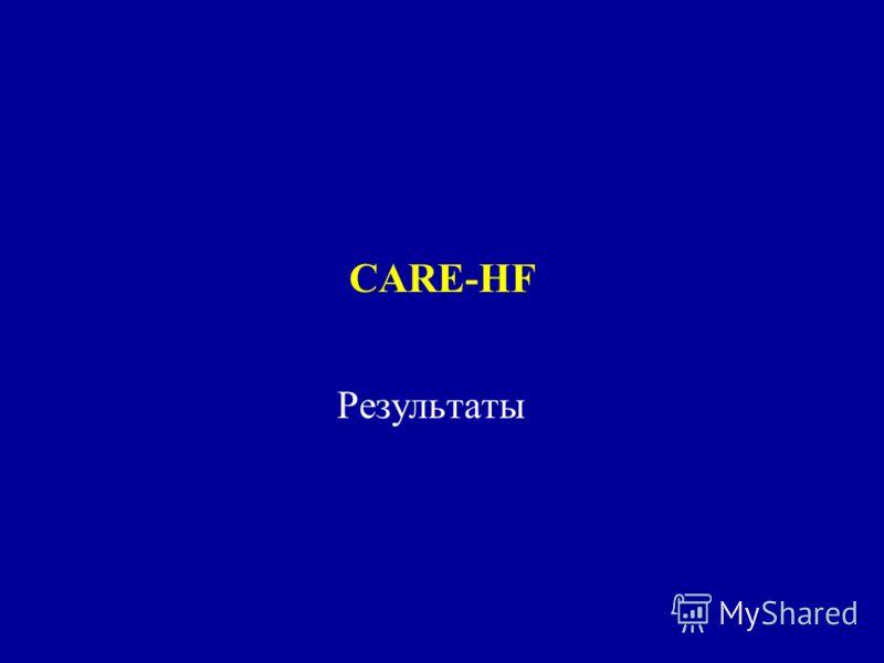 CARE-HF Результаты