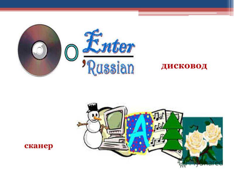 дисковод сканер