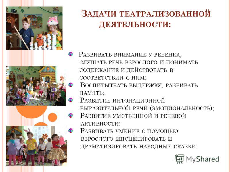 презентации театрализованной сказки