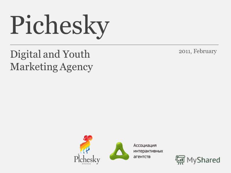 Pichesky Digital and Youth Marketing Agency 2011, February