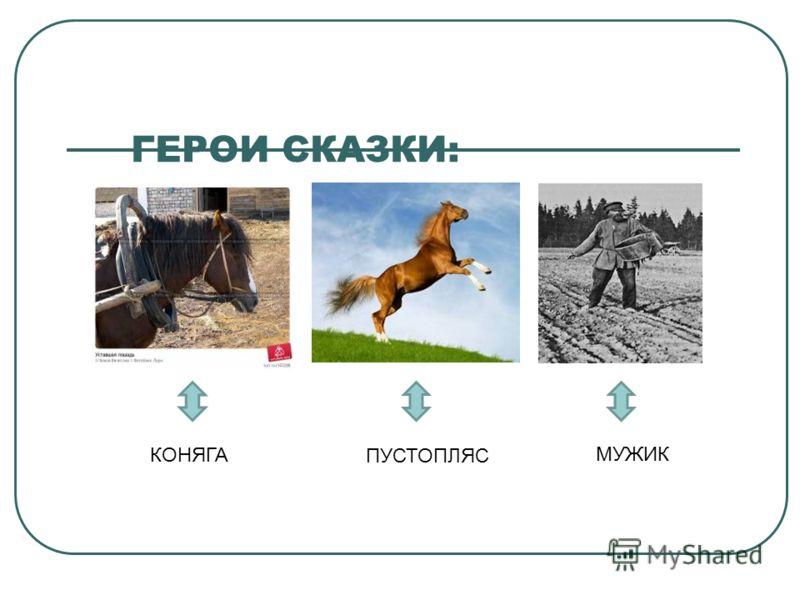 ПУТЕШЕСТВИЕ В СКАЗКУ коняга