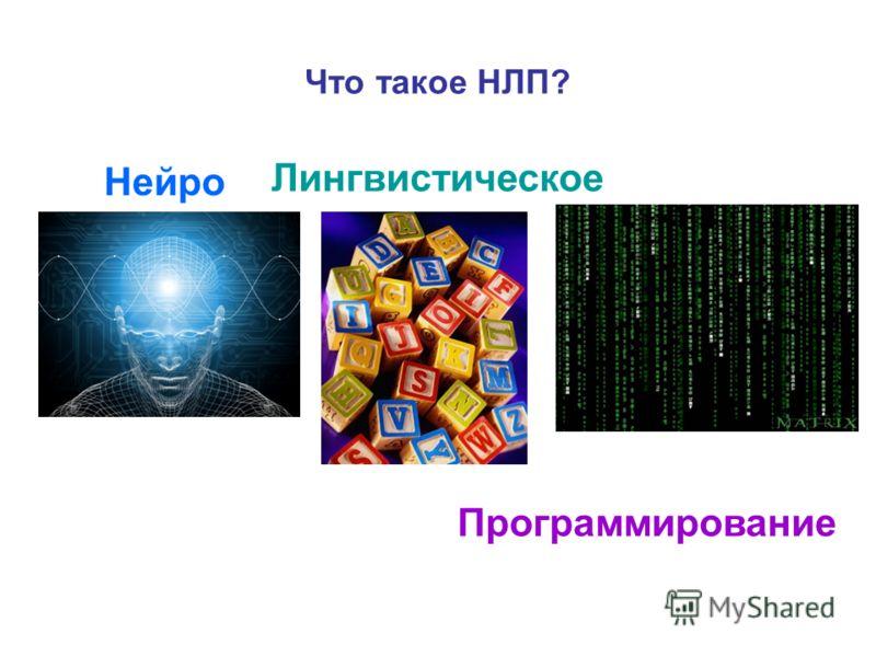 Что такое НЛП? Нейро Лингвистическое Программирование