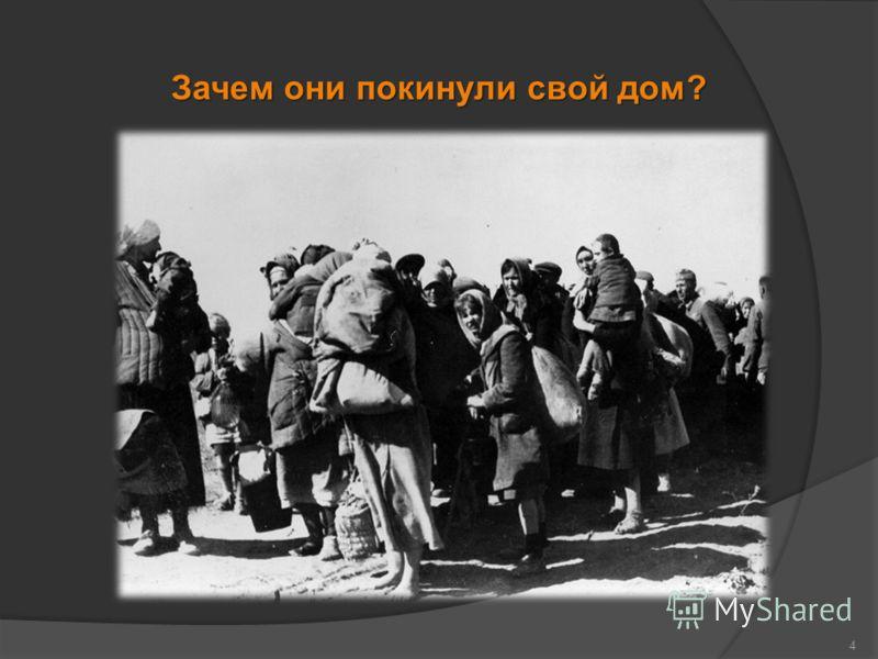 Зачем они покинули свой дом? 4