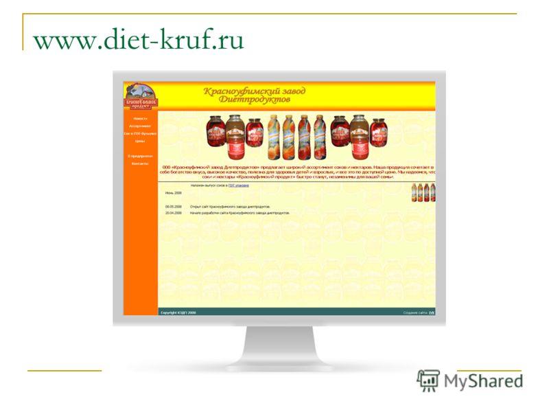 www.diet-kruf.ru