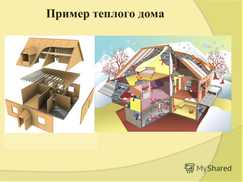 Пример теплого дома