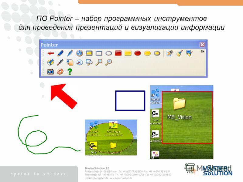 ПО Pointer – набор программных инструментов для проведения презентаций и визуализации информации