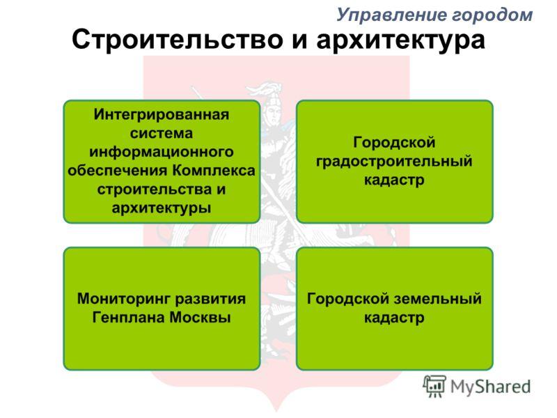 Строительство и архитектура Управление городом