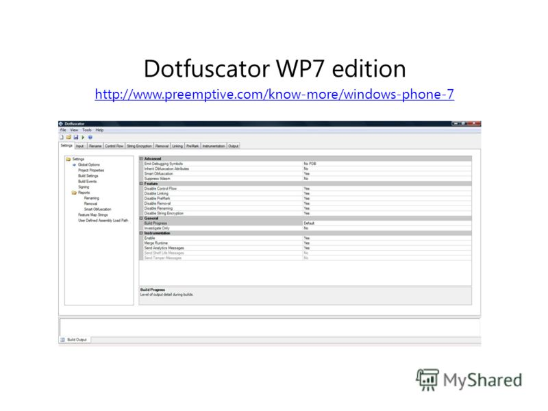 Dotfuscator WP7 edition http://www.preemptive.com/know-more/windows-phone-7