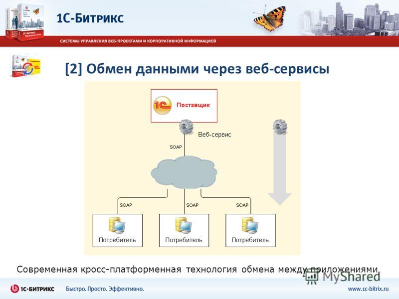 [2] Обмен данными через веб-сервисы Современная кросс-платформенная технология обмена между приложениями
