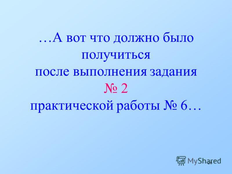 25 А теперь… …выполним практическую работу 6… При вводе текста соблюдайте правила (см. стр. 90 Учебника)!!!