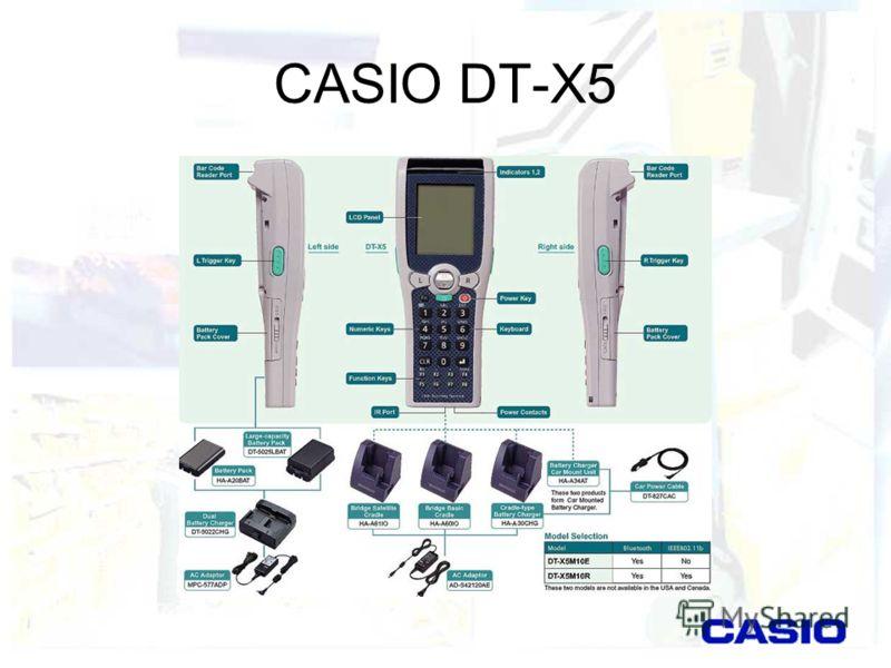 CASIO DT-X5