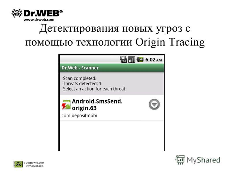 Детектирования новых угроз с помощью технологии Origin Tracing