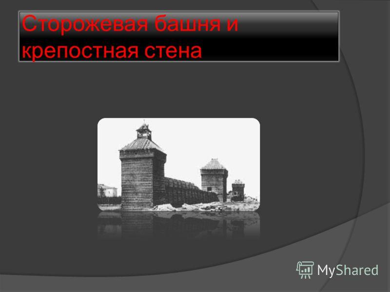 Сторожевая башня и крепостная стена