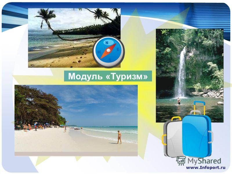 www.Infoport.ru Модуль «Туризм»
