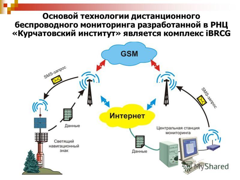 Основой технологии дистанционного беспроводного мониторинга разработанной в РНЦ «Курчатовский институт» является комплекс iBRCG