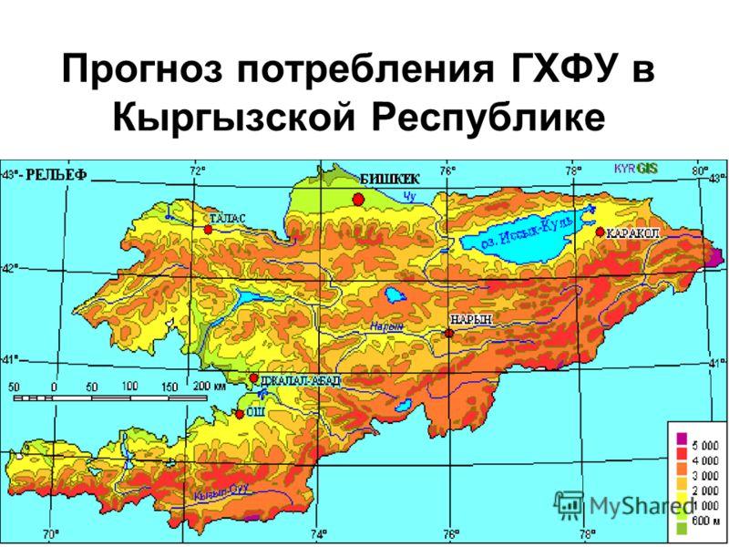 Прогноз потребления ГХФУ в Кыргызской Республике