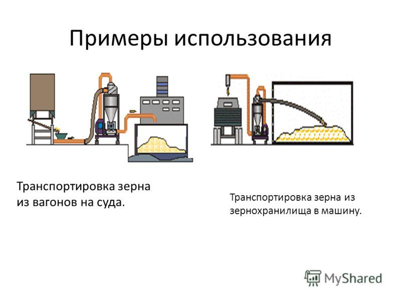 Примеры использования Транспортировка зерна из вагонов на суда. Транспортировка зерна из зернохранилища в машину.