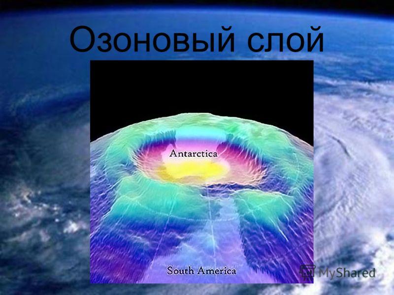 Проблемы озонового слоя доклад 182