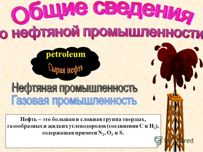 Общие сведения о нефтяной промышленности Энергетический кризис 1973 – 1974годов Нефть Аляски Этапы исторического развития нефтяной промышленности США (XIX – XX века) Перспективы развития нефтяной промышленности США Нефтяные ресурсы США
