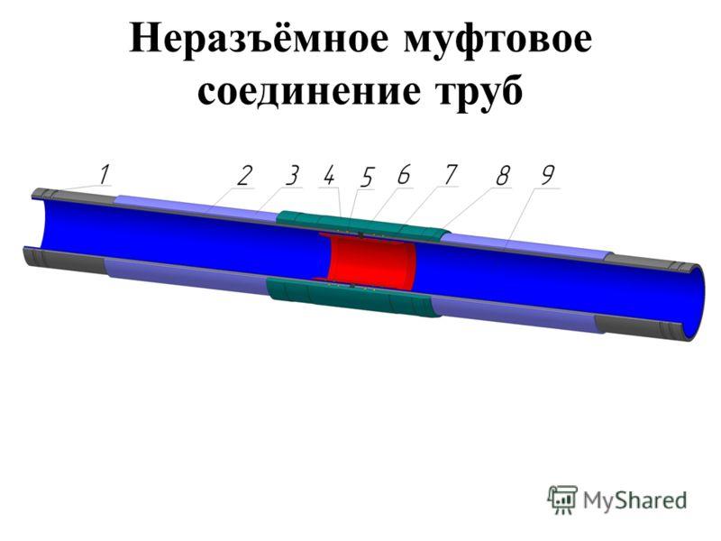 Неразъёмное муфтовое соединение труб
